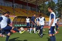 Тренировка Стали U-19 в Лютеже на стадионе ФК Диназ